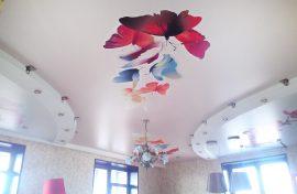 потолок и фотопечать изображение