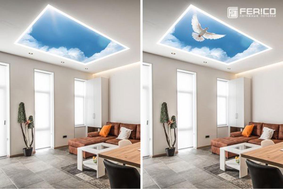 потолок Дабл Вижн фото