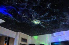 натяжной потолок звездное небо купить изображение