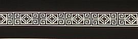 карниз черно-белый амулет изображение