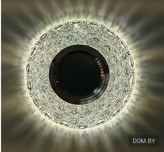 светильник натяжной потолок фото